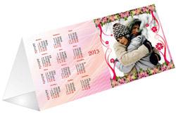 печать календарей домик