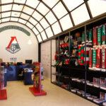 оформление фирменного магазина ФК Локомотив Москва